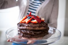 Tarte au chocolat--Čokoládový dort s čokoládovým krémem--Chcolate cake with chocolate filling