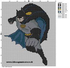 Cross-stitch BATMAN