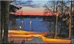 Evening_ ailialaiso-fi.webnode.fi Winter White, Finland, Winter Wonderland, Wind Turbine