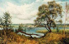 На берегу: холст, масло, 60x80, 1996
