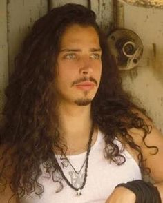 Chris Cornell: He's always been a bit of a brother figure in my mind, but then again. However, it's difficult not to look at him and marvel at his almost ethereal yet manly beauty. Most Beautiful Man, Gorgeous Men, Beautiful People, Say Hello To Heaven, Grunge Guys, Andrew Lincoln, Pearl Jam, Elvis Presley, Marilyn Monroe