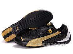 c408663c9 Mens Puma Wheelspin Black Golden Lastest