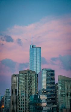 Free Photos, Free Stock Photos, Pink Clouds, Travel And Tourism, Willis Tower, Skyscraper, Sunset, Building, Dawn