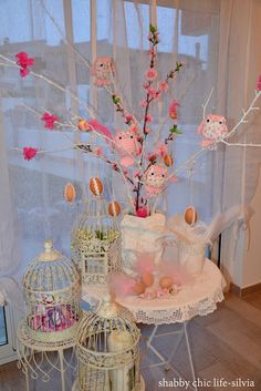Festa di Primavera - Uccellini e coniglietti