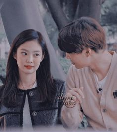 Don't look at me like that. Because you make me fall inlove again💗 ©To the OWNERS of the pic Exo Couple, Korean Couple, Couple Goals, Kai Exo, Baekhyun, Kawaii Makeup, Kpop Couples, Fake Photo, Blackpink And Bts