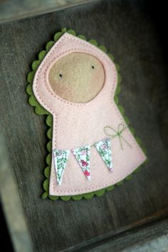 jasna felt baby with bunting felt baby felt christmas ornaments christmas crafts