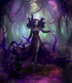 Ashley Zentaris in her psionic forest Fantasy Character Design, Character Concept, Character Inspiration, Character Art, Concept Art, Beautiful Fantasy Art, Dark Fantasy Art, Fantasy Girl, Fantasy Artwork