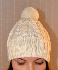 Knit hat  kaksneljaseitteman.blogspot.fi