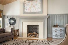 True Craft Fireplace Detail