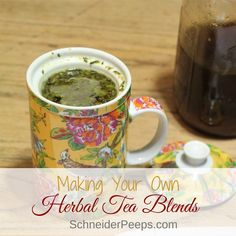 Making your own herbal tea blends is easy and much more cost effective than buying premade blends. Learn how to make DIY tea blends using traditional methods.
