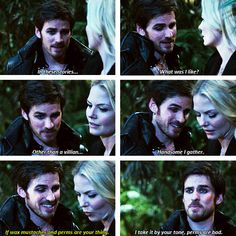 Once Upon A Time Season 3! Bahaha I love this!!! xD One of the best parts!