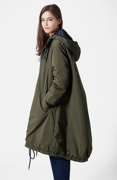 TOPSHOP Boutique Oversize Longline Coat available at #Nordstrom $180