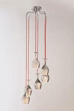 Kare Design Wijnglas Hanglamp   Zooff.nl betaalbaar design online