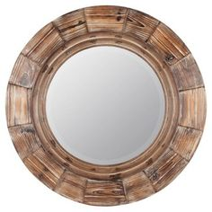 Check out this item at One Kings Lane! Milner Wall Mirror, Natural