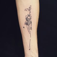 Bunnygirl tattoo