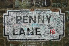 Penny Lane, Liverpool, England (Lived here).