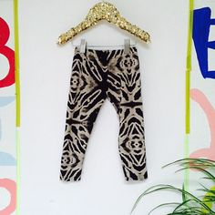2-3 Years Kids Soft Stretchy Leggings Pants Toddler Trousers Sweat Pants in Upcycled Cotton Jersey Unisex
