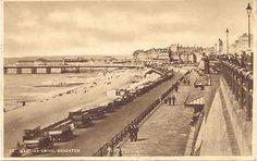 """ Madeira Drive, Brighton, England "" Karodens Vintage Post Cards."