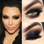 Tutorial - a maquiagem cat eyes sexy de Kim Kardashian
