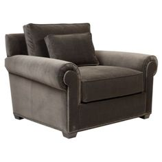 Looks so comfy and love the color. Looks like a cigar smoking chair. Miles Chair from Z Gallerie
