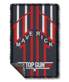 Love this Top Gun Maverick Woven Throw on #zulily! #zulilyfinds