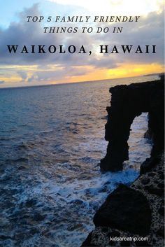 Want to escape to paradise with kids? Check out these family friendly things to do in Waikoloa, Hawaii and you'll want to pack your bags in no time!