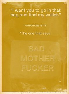 Quote from Pulp Fiction