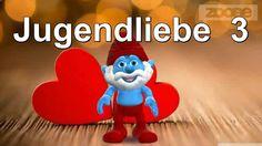 Jugendliebe....♥♥ Schlumpf & Schlumpfine - Smurf & Smurfette ♥♥Zum ♥#Valentinstag #Video♥Gruß an die #Liebe kostenlos schicken App von #Zoobe ♥