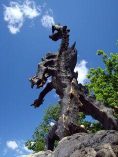 Wawel Dragon - Krakow, Poland