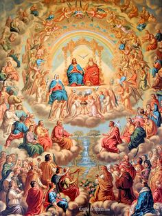 Nov. 1-All Saints Day: On November 1st the Church celebrates all her holy ones, known and unknown, in heaven with the feast of All Saints. The solemnity originally began in the 4th century to commemorate all...
