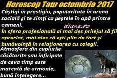 Horoscopul Taurului octombrie 2017 indică o integrare fericită în sfera socială, realizări de excepţie datorate îndeosebi unor parteneriate ... Astrology