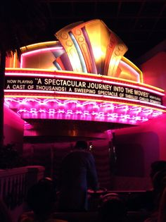 A SPECTACULAR JOURNEY INTO THE MOVIES RIDES ... THIS ONE ITS AWESOME
