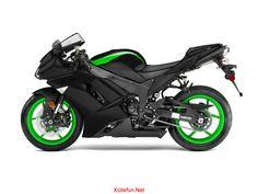 Ninja Bike | Kawasaki Ninja ZX-14 - Super Electronically Bike : Automobiles