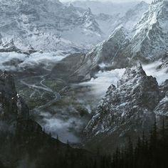 The elder scrolls V - Skyrim Landscapes