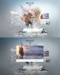 Assassins Creed 3 Re-Design