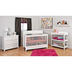 Baby Mod - Ava Fixed Side Crib with adjustable Mattress Height ...