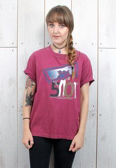 Vintage+Purple+Levi's+T-Shirt