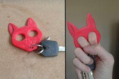 3D Imprimé Bitcoin Keychain