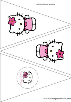 The Vintage Farmhouse: Hello Kitty Party & Free Printables
