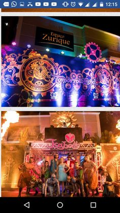 Tomorrow Land, Lounge Lighting, 2d, Birthday Parties, Steampunk, Alice, Anna, Party, Ideas