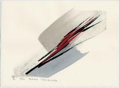 Toko Shinoda, Flame, Castle Fine Arts