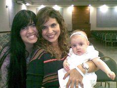 Aline Barros, Fernanda Brum e Laura Brum