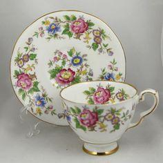 Vintage Royal Stafford Rochester Floral  Demitasse by Ariamel, $35.00