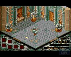 Cadaver : Hall Of Light - The database of Amiga games Retro Video Games, Home Entertainment, Pixel Art, Arcade, Wolf, Gaming, Draw, Entertaining, Modern