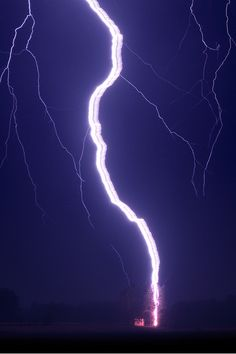 Ribbon lightning.....one of these days I want to try lightning photography