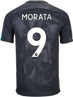 cbe0a035d833ce Nike Alvaro Morata Chelsea 3rd Jersey 2017-18 | SoccerMaster.com Chelsea  Soccer,