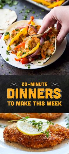 7 Dinners That Take 20 Minutes Or Less To Make