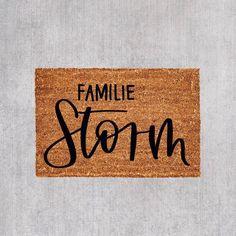 11+ Fussmatte familie selbst gestalten Trends