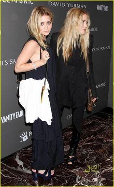 Mary-Kate Olsen and Givenchy Spring 2010 RTW Black Mini Jacket