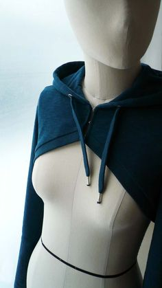 shrug pattern sewing | Free Hooded Bolero Pattern by SewWhat